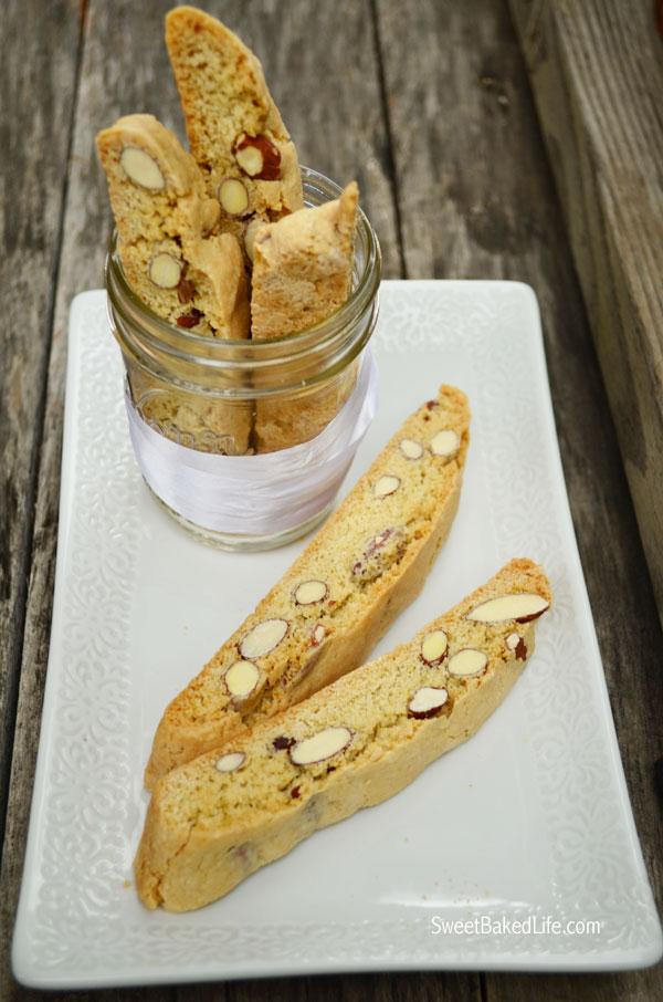Vanilla Almond Biscotti | Sweet Baked Life