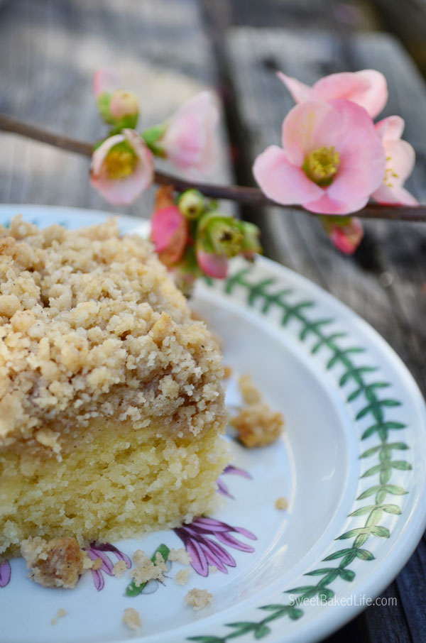 Fluffy Crumb Cake | Sweet Baked Life