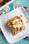 Banana Coconut Baked Oatmeal Squares | Sweet Baked Life