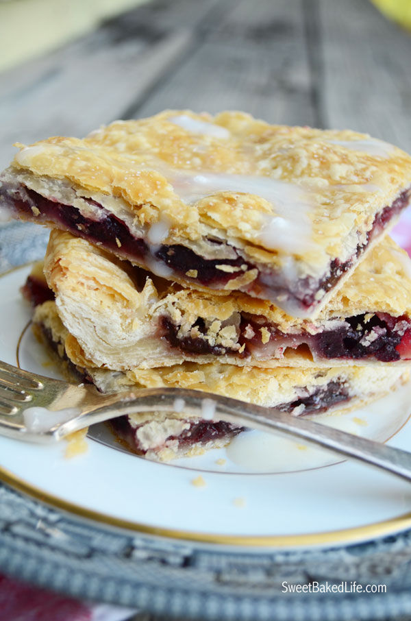 Cherry Slab Pie @ SweetBakedLife