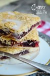 Cherry Slab Pie @SweetBakedLife