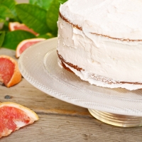Pink Grapefruit Layer Cake