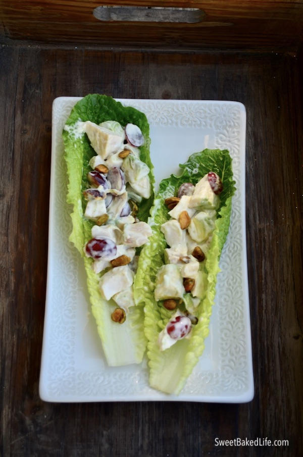Curried Chicken Salad - Whole30 @ sweetbakedlife.com