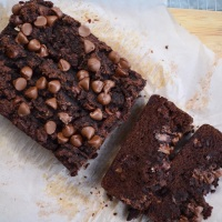 Double Chocolate Banana Bread {grain & dairy free}