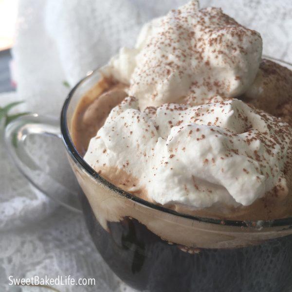 Honey Mocha Irish coffee | #sweetbakedlife