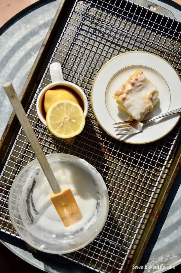 The best gluten-free Lemon Drizzle Cake @sweetbakedlife
