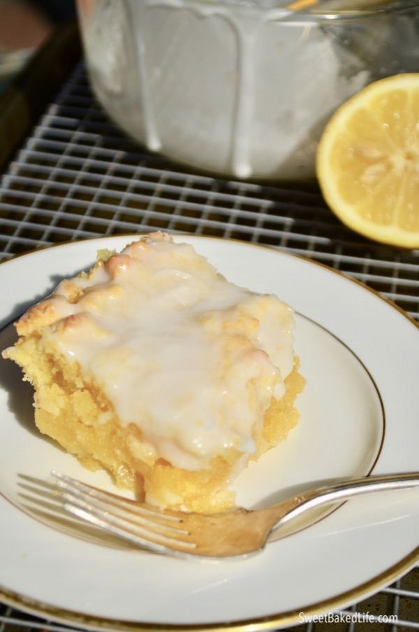 The best gluten-free Lemon Drizzle Cake @sweetbakedlife