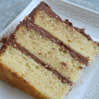 Vanila Fudge Cake