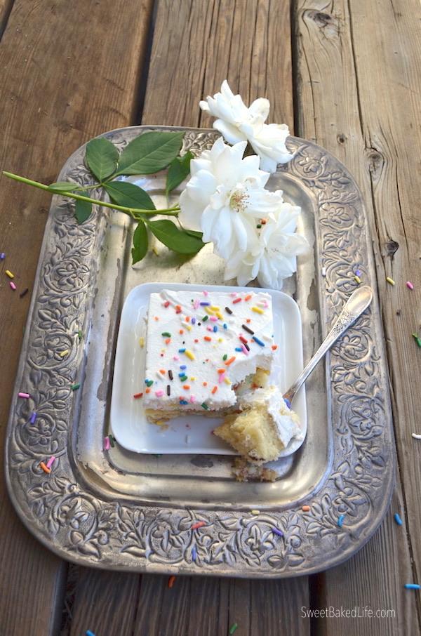 Classic Birthday Cake @sweetbakedlife