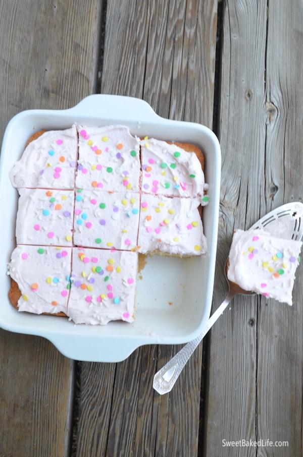 Vanilla Snack Cake-2