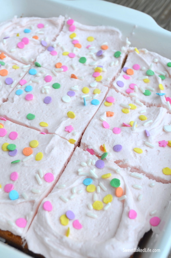 Vanilla Snack Cake-6