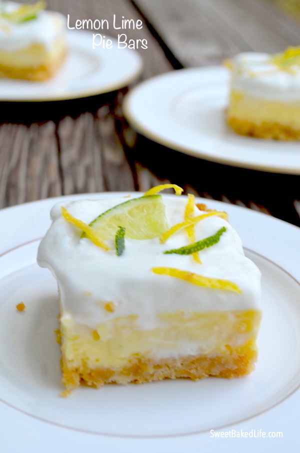 LemonLime Pie Bars